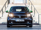 Smart ForTwo prime coupé electric drive (C453) 2017 wallpapers