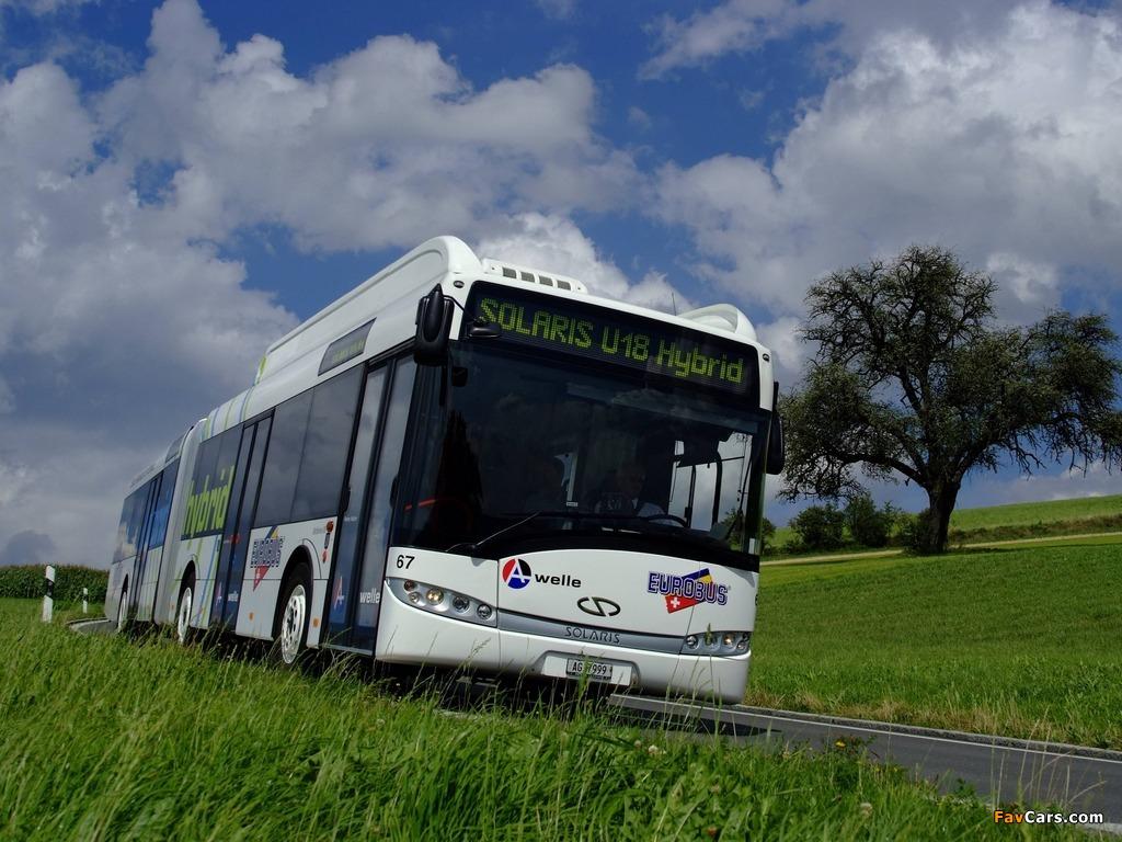 Solaris Urbino 18 Hybrid 2008 images (1024 x 768)