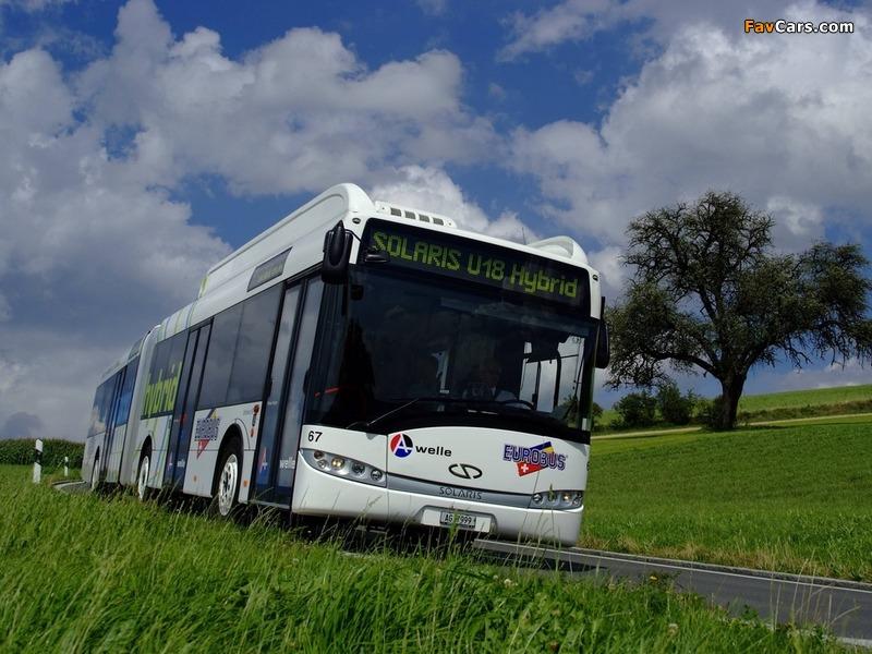 Solaris Urbino 18 Hybrid 2008 images (800 x 600)
