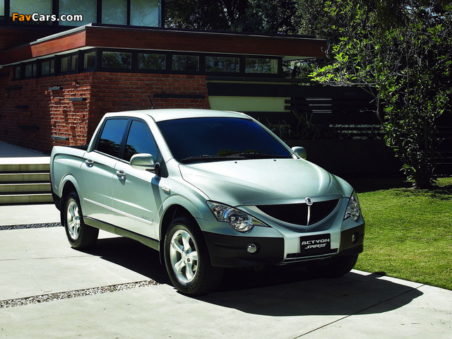 Images of SsangYong Actyon Sports 2006 (640 x 480)
