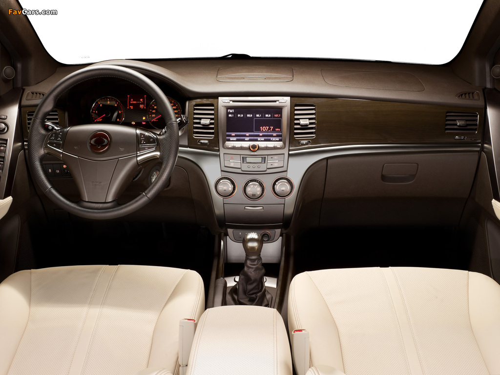 Images of SsangYong Actyon Concept 2010 (1024 x 768)