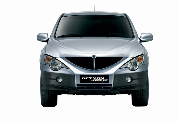 Ssangyong Actyon Sports 2006 Pictures