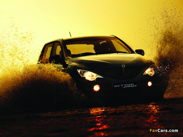 SsangYong Actyon Sports 2006 wallpapers (640 x 480)