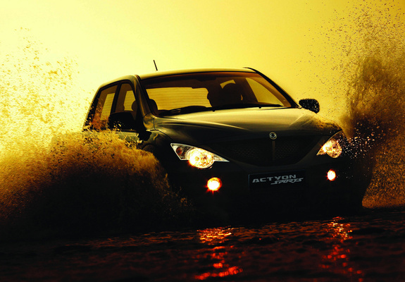 Ssangyong Actyon Sports 2006 Wallpapers