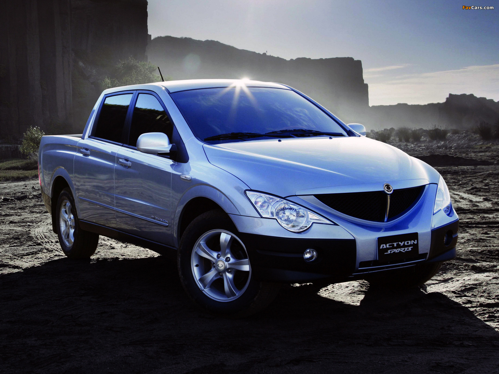 SsangYong Actyon Sports 2006 wallpapers (1600 x 1200)