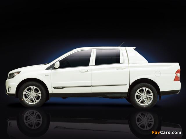 SsangYong SUT-1 Concept 2011 photos (640 x 480)
