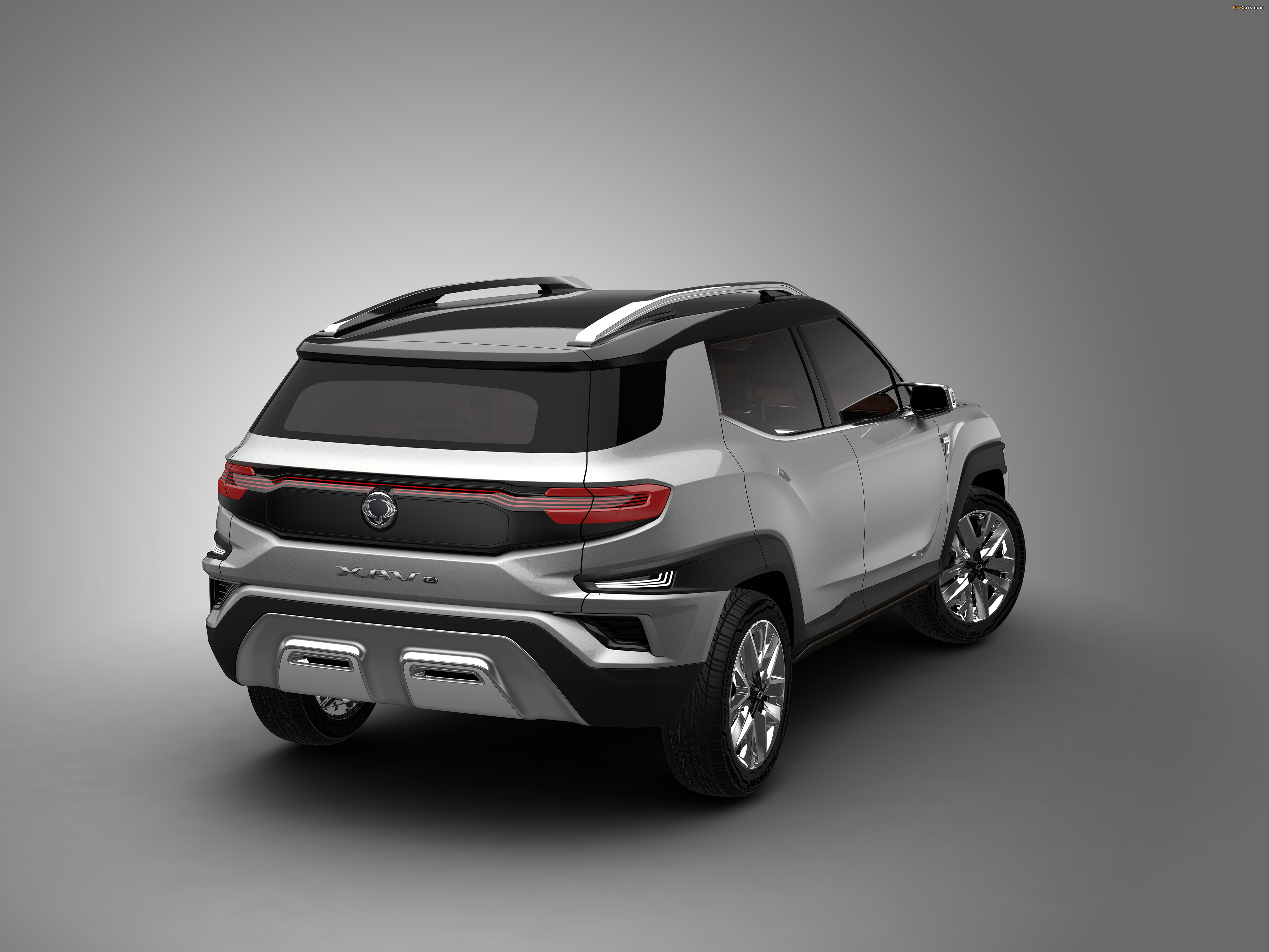SsangYong XAVL Concept 2017 pictures (4096 x 3072)