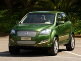 SsangYong C200 Eco Hybrid Concept 2009 wallpapers