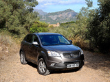 SsangYong Korando UK-spec 2011 pictures