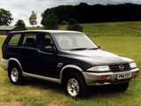 Photos of SsangYong Musso UK-spec 1993–98