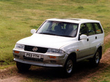 SsangYong Musso UK-spec 1993–98 pictures