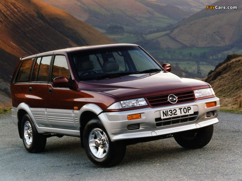 SsangYong Musso UK-spec 1993–98 wallpapers (800 x 600)