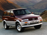 SsangYong Musso UK-spec 1993–98 wallpapers