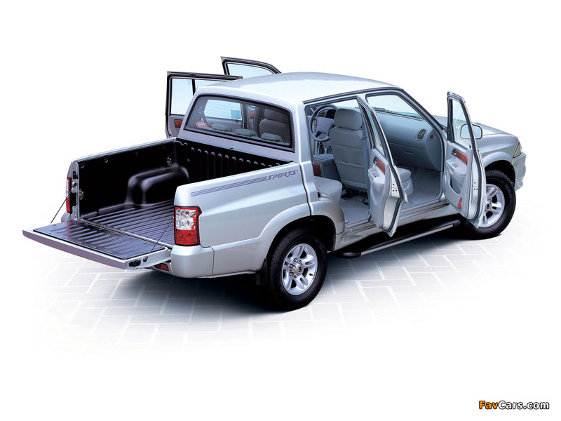SsangYong Musso Sports 2002–06 wallpapers (800 x 600)