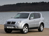 SsangYong Rexton UK-spec 2006 pictures