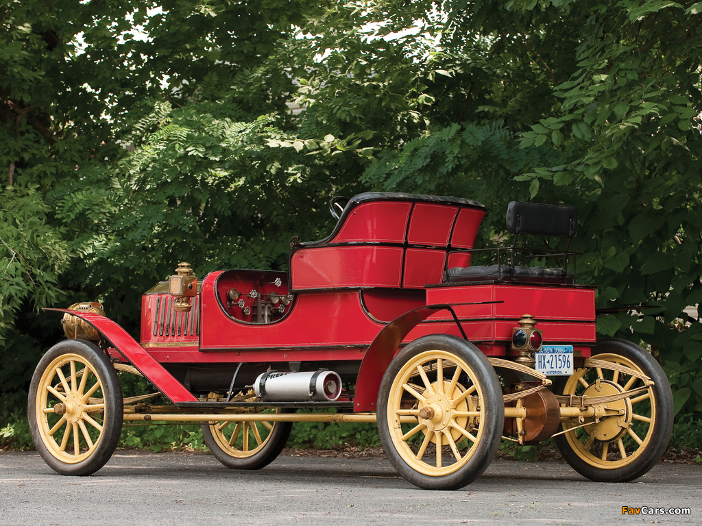 Images of Stanley Model E Runabout 1909 (1024 x 768)