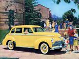 Studebaker Champion Deluxstyle Cruising Sedan 1942 pictures