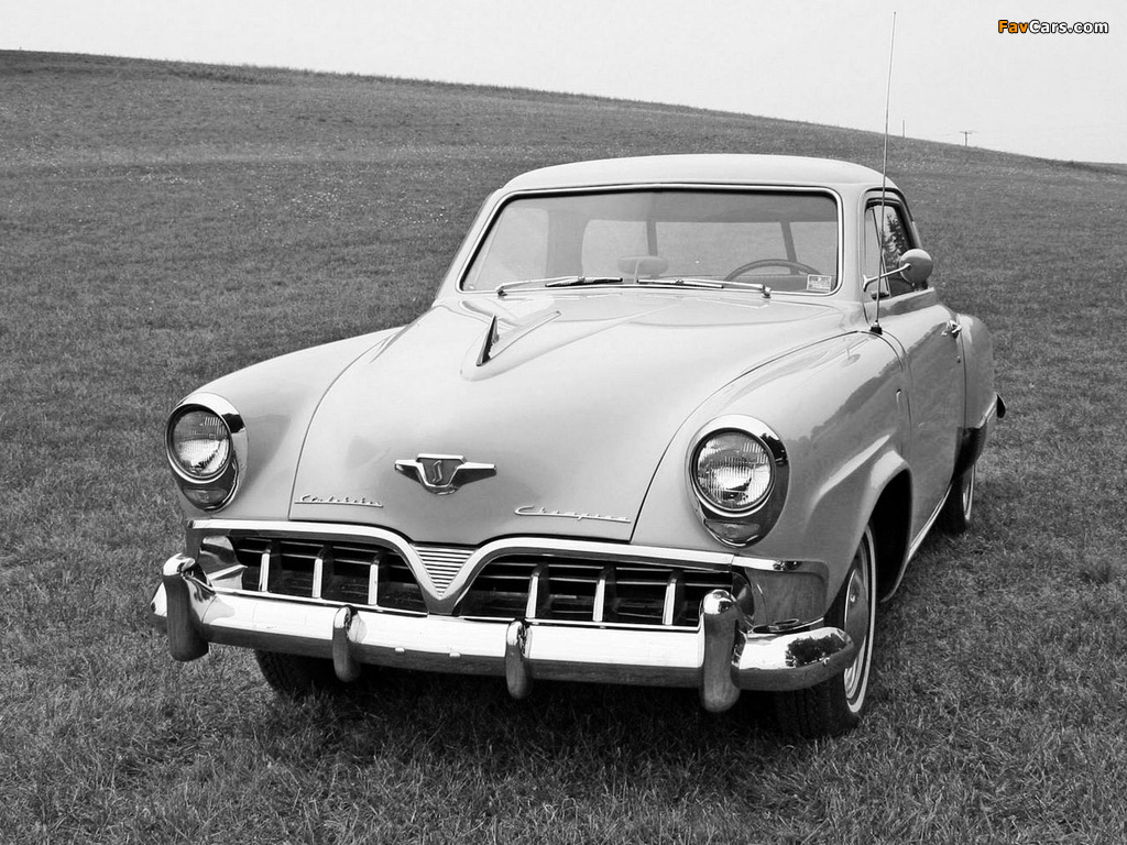 Studebaker champion starlight coupe 1952 wallpapers 1024x768 - Studebaker champion starlight coupe ...