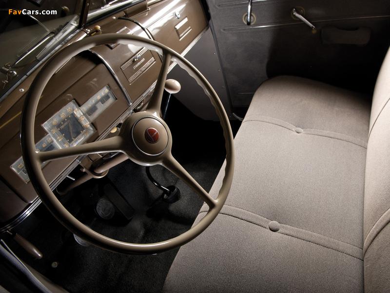 Photos of Studebaker Commander Six Cruising Sedan 1938 (800 x 600)