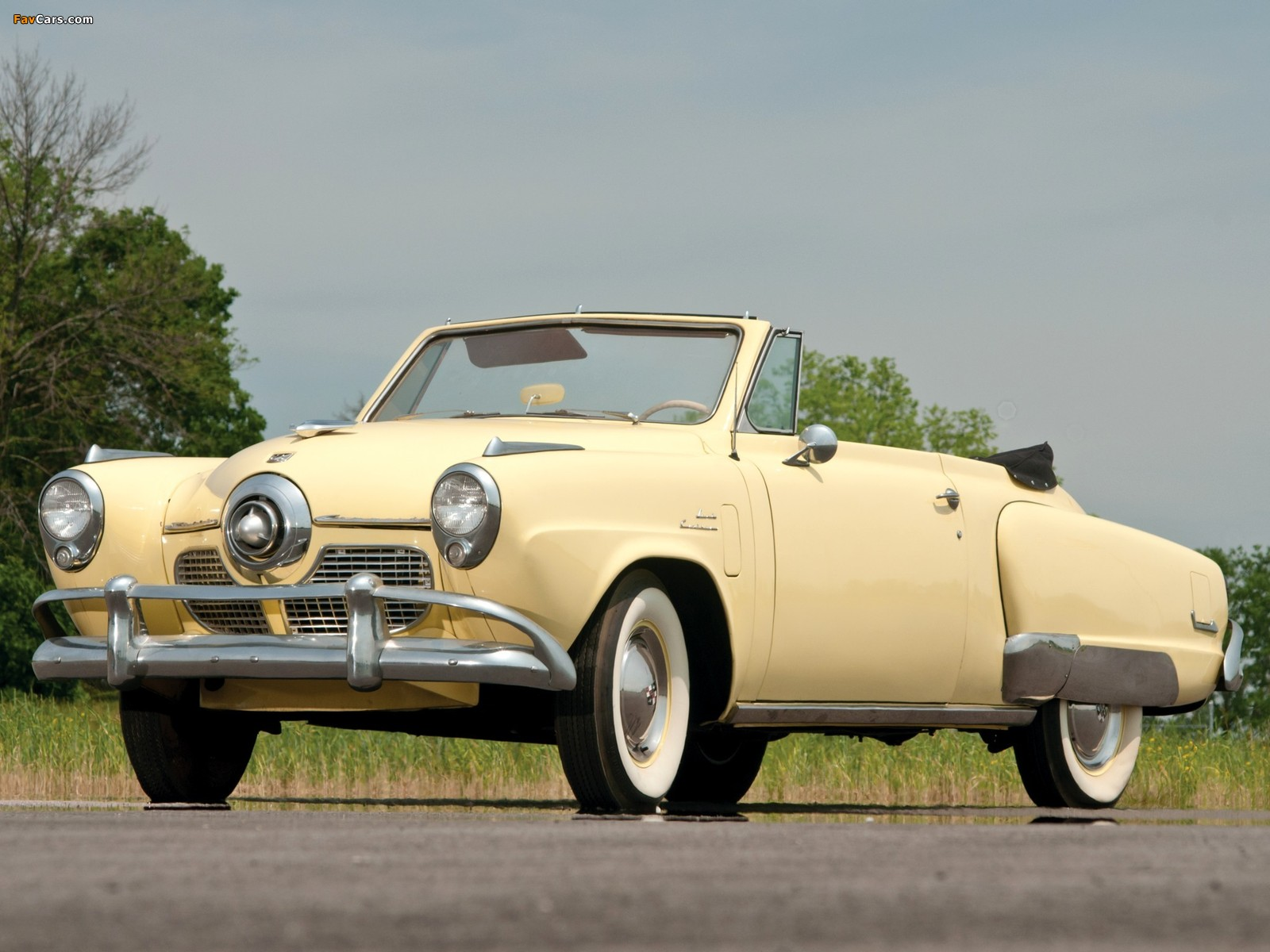 Studebaker Commander State Convertible 1951 photos (1600 x 1200)