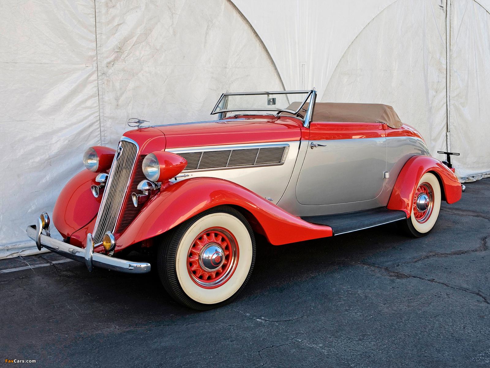 Studebaker Dictator Roadster 1935 wallpapers (1600 x 1200)