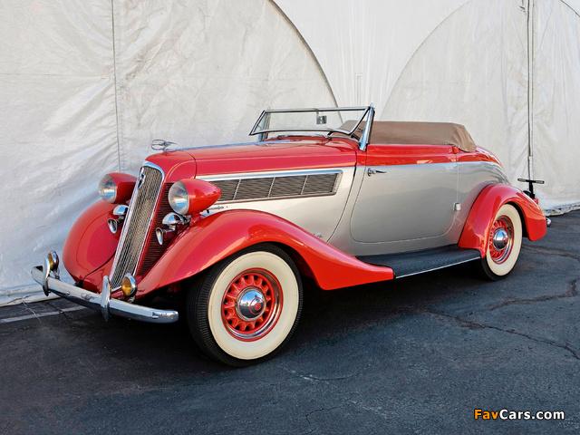 Studebaker Dictator Roadster 1935 wallpapers (640 x 480)