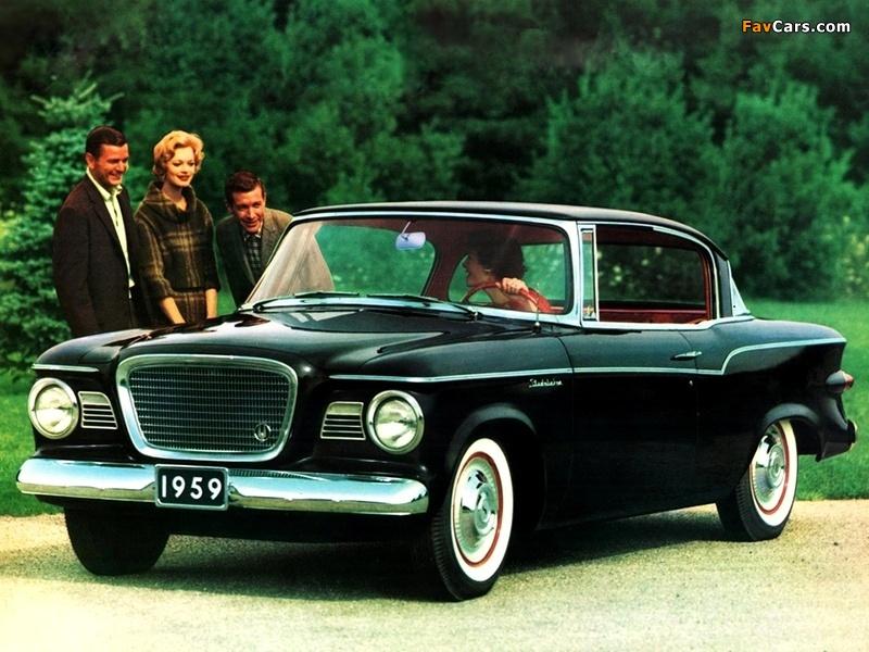 Studebaker Lark 2-door Hardtop 1959 wallpapers (800 x 600)