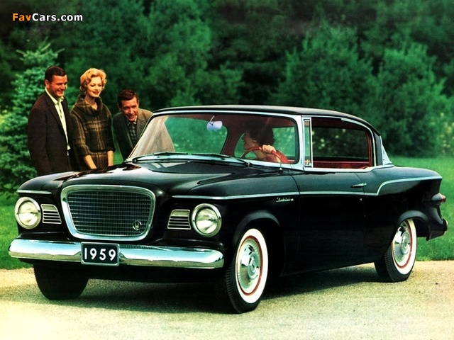 Studebaker Lark 2-door Hardtop 1959 wallpapers (640 x 480)
