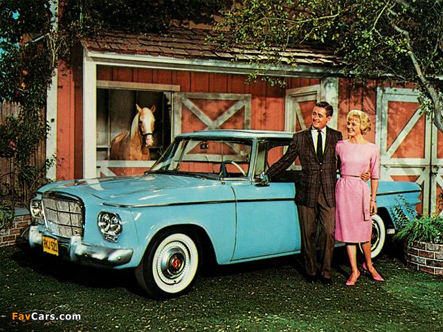 Studebaker Lark 2-door Hardtop 1961–64 wallpapers (640 x 480)