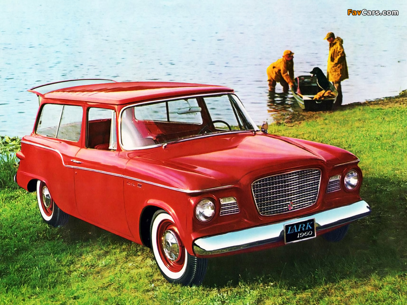 Studebaker Lark VIII 2-door Station Wagon 1960 wallpapers (800 x 600)