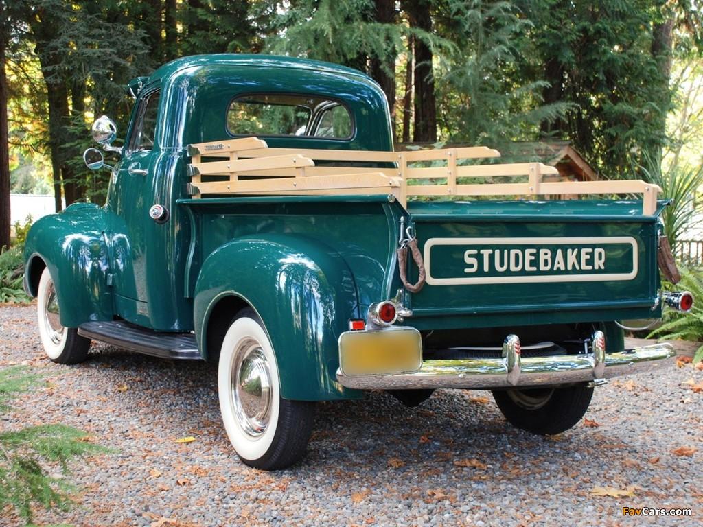 Studebaker Pickup 1947– images (1024 x 768)