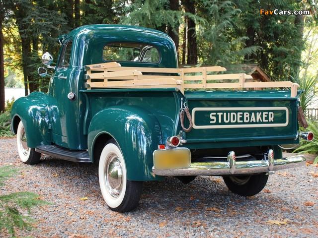 Studebaker Pickup 1947– images (640 x 480)