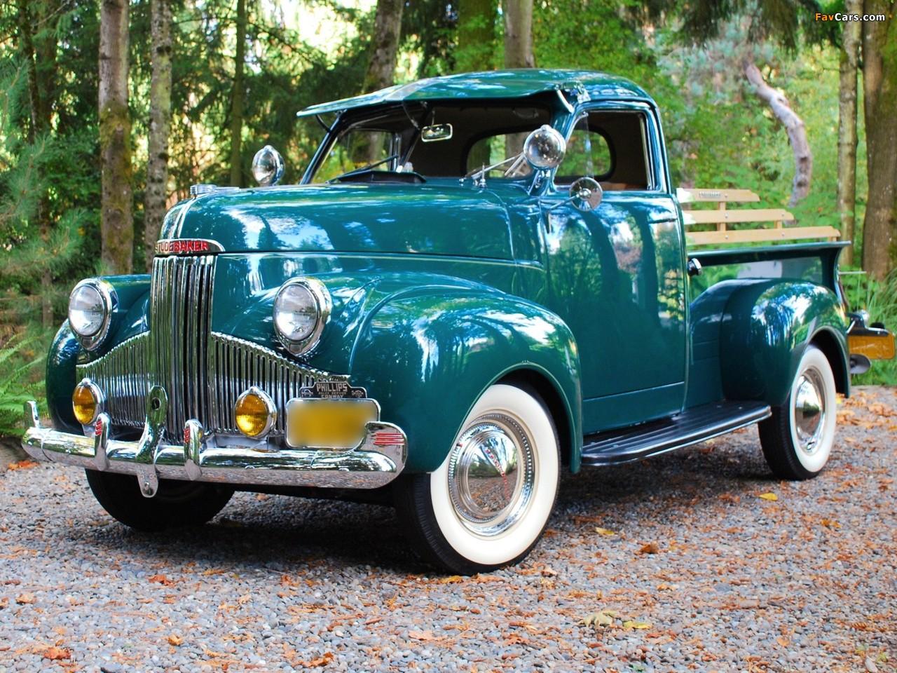 Studebaker Pickup 1947– photos (1280 x 960)