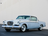 Studebaker Sky Hawk Coupe 1956 wallpapers
