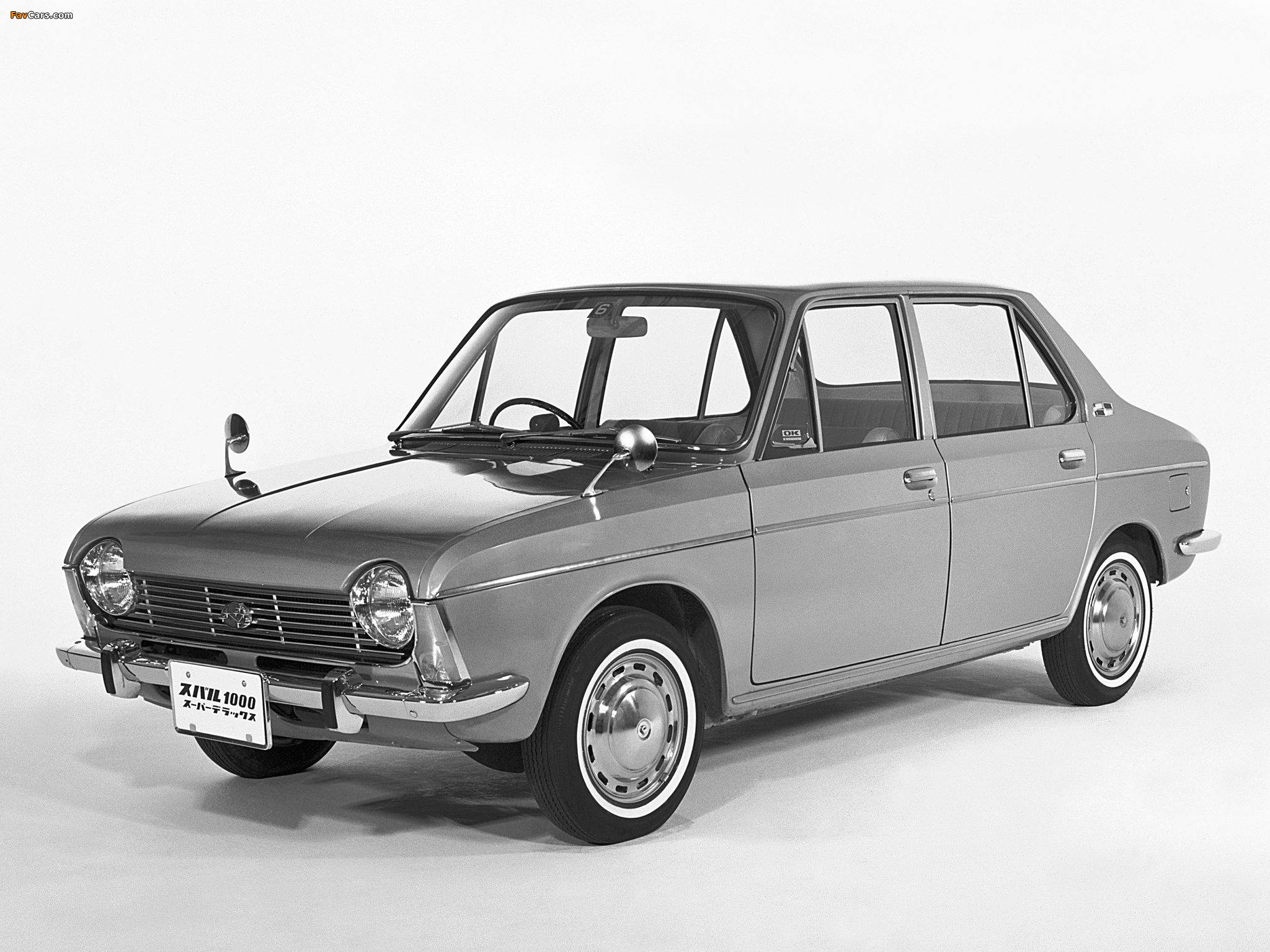 Subaru 1000 4 Door Sedan 1965 69 Wallpapers 2048x1536