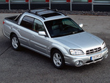 Subaru Baja DE-spec 2003 photos