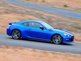 Pictures of Subaru BRZ US-spec 2012