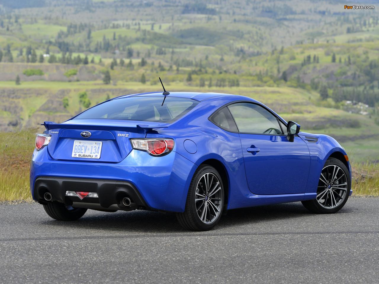 Subaru Brz Us Spec 2012 Images 1280x960