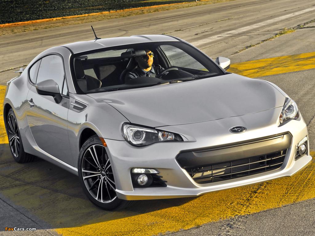 Subaru BRZ US-spec 2012 images (1024 x 768)