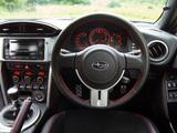Subaru BRZ Aero Package UK-spec (ZC6) 2012 photos