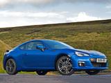 Subaru BRZ Aero Package UK-spec (ZC6) 2012 pictures