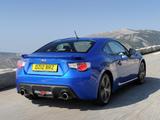 Subaru BRZ Aero Package UK-spec (ZC6) 2012 wallpapers