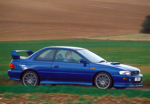 Subaru Impreza P1 Prototype 1999 Images