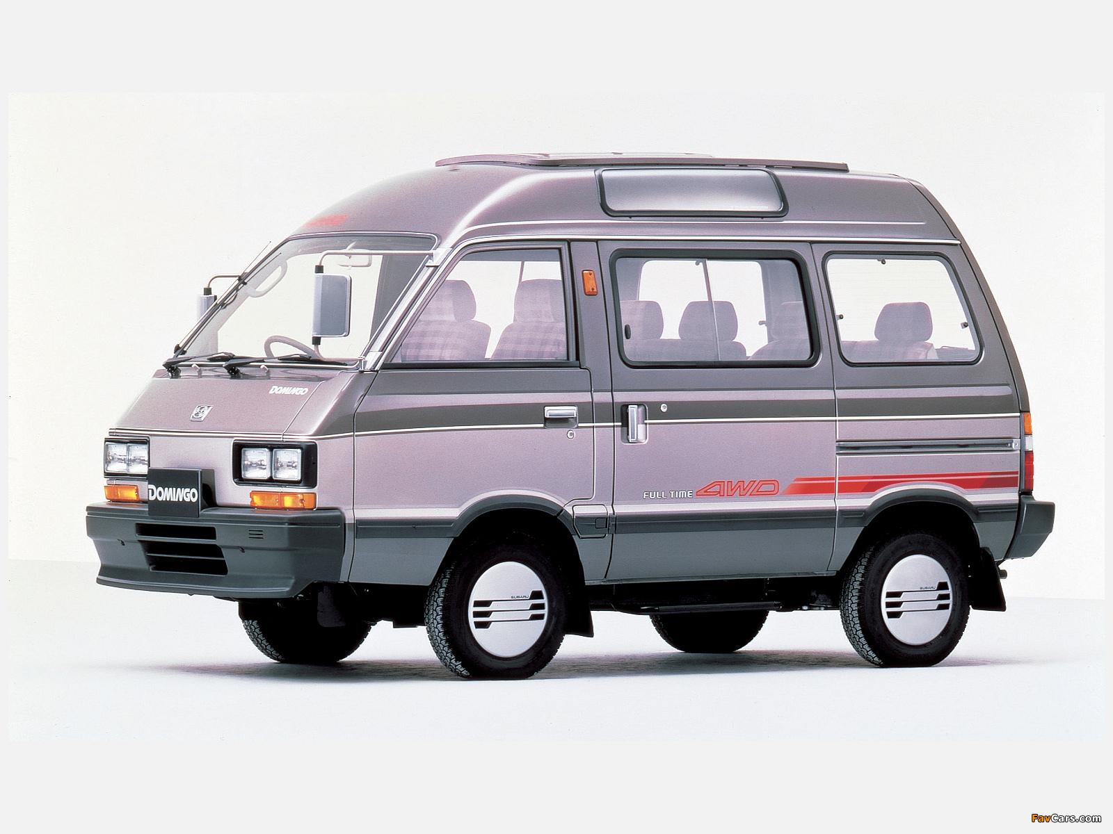 Subaru Domingo (KJ) 1983–91 images (1600 x 1200)