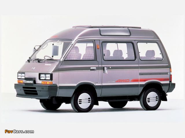 Subaru Domingo (KJ) 1983–91 images (640 x 480)
