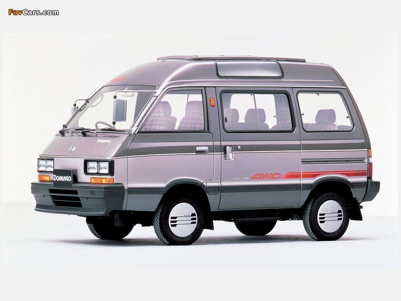 Subaru Domingo (KJ) 1983–91 images (800 x 600)