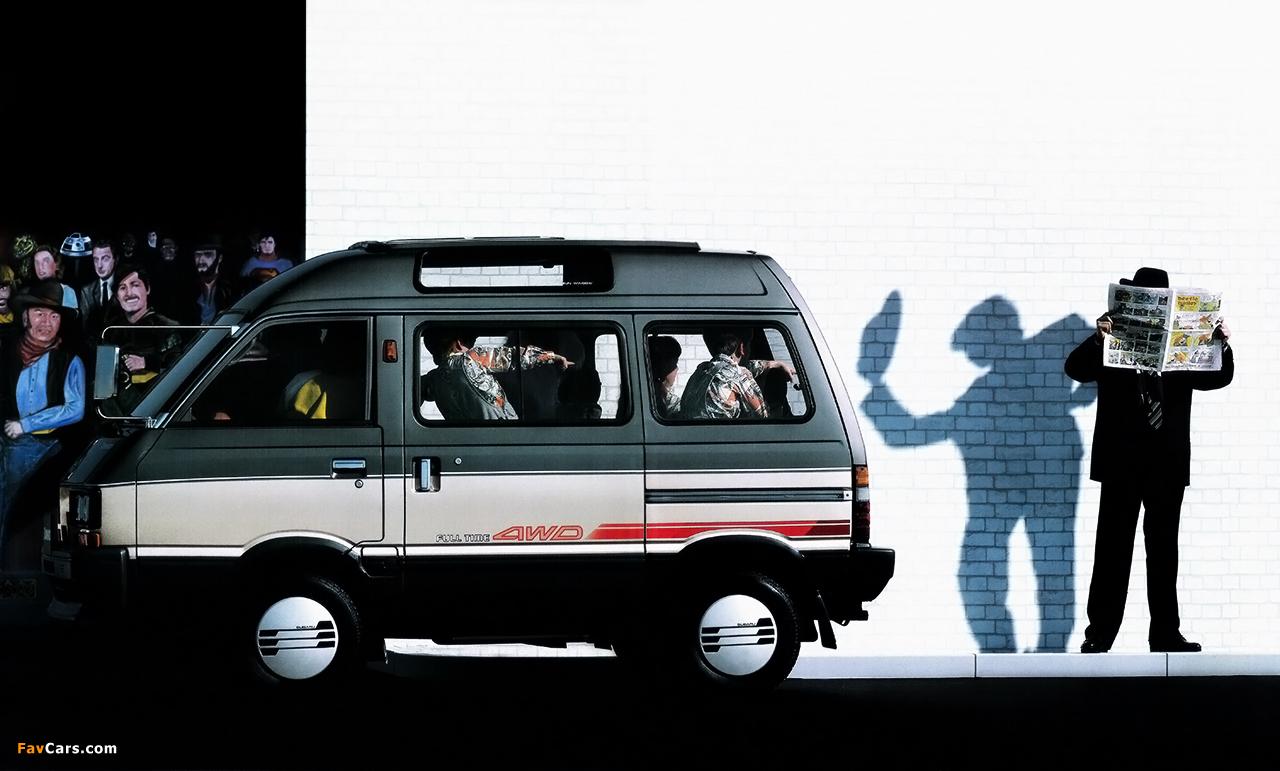 Subaru Domingo (KJ) 1983–91 wallpapers (1280 x 771)