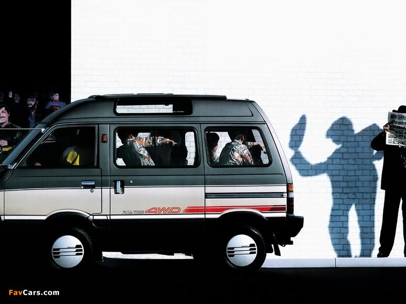 Subaru Domingo (KJ) 1983–91 wallpapers (800 x 600)