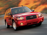 Images of Subaru Forester US-spec (SG) 2003–05