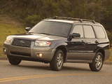 Images of Subaru Forester 2.0X US-spec (SG) 2005–08